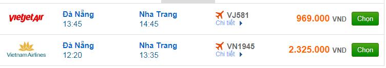Chi tiết giá vé đi Nha Trang Vietnam Airlines, Vietjet Air, Jetstar tháng 07