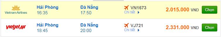 Chi tiết giá vé đi Đà Nẵng hãng Vietnam Airlines, Vietjet Air, Jetstar tháng 04