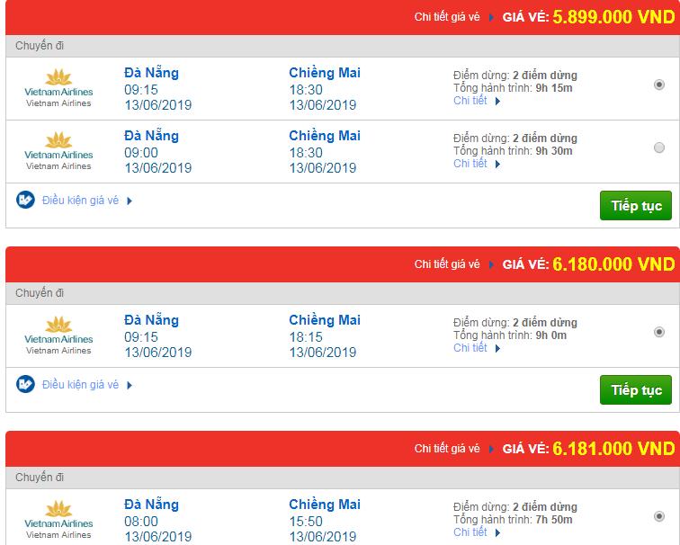Chi tiết giá vé đi Thái Lan 3 Vietnam Airlines, Vietjet Air, Jetstar tháng 06